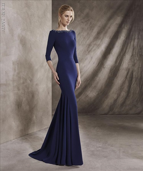 vestido fiesta san patrick 7203-514a04   miguel peris
